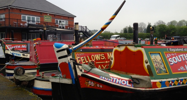The Samuel Barlow and an assortment of wonderful working boats in the marina