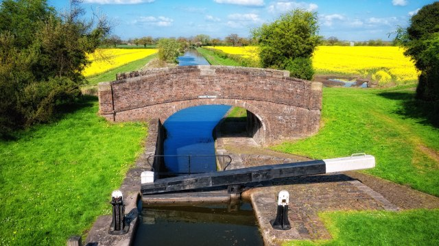 Colourful canal