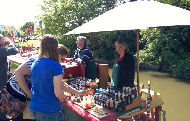 Helen and Andy sell oodles of their delicious Wild Side jams and preserves