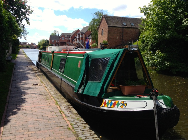 Areandare moored in Stourport