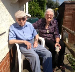 Dad and mum capture some glorious British sunshine