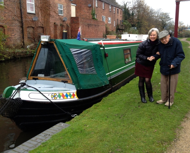 narrowboat in Kidderminster