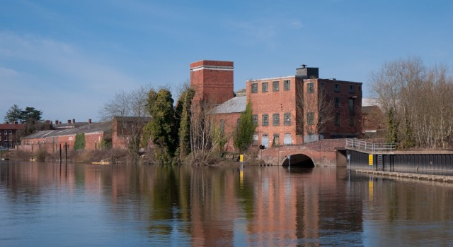 The old vinegar factory just outside Stourport