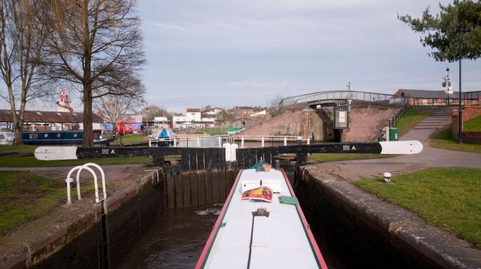 double locks Stourport