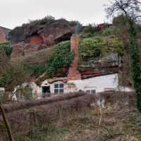Kinver Rock Houses - seeing inside at last!