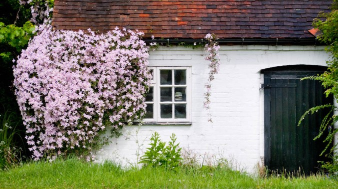 Canal side cottage