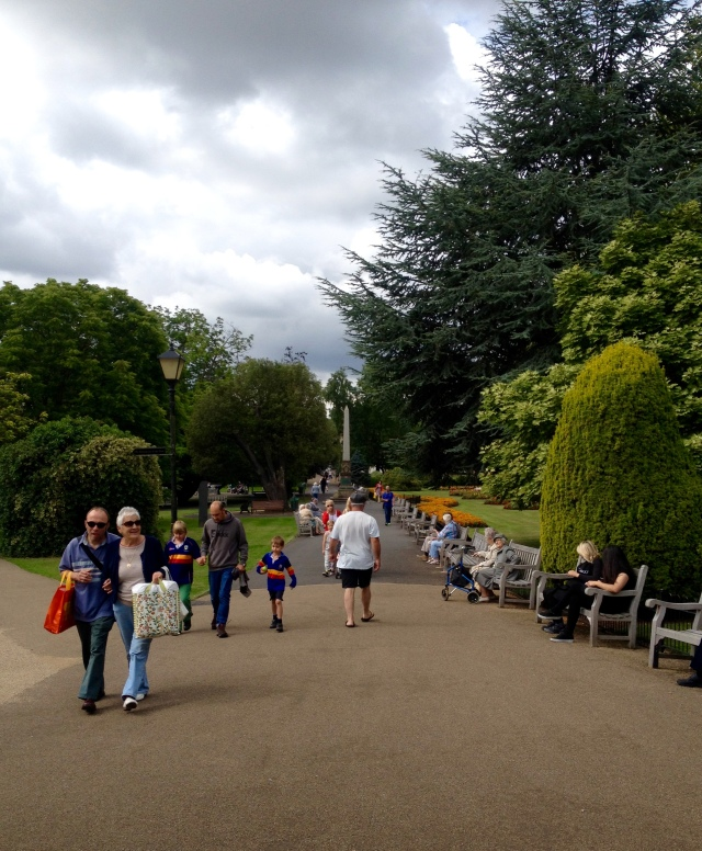 Jephson Park Leamington Spa