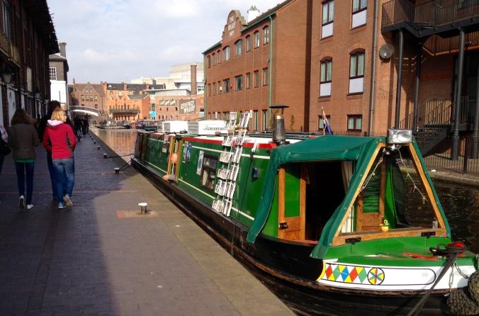 The Home Brew Boat in Birmingham