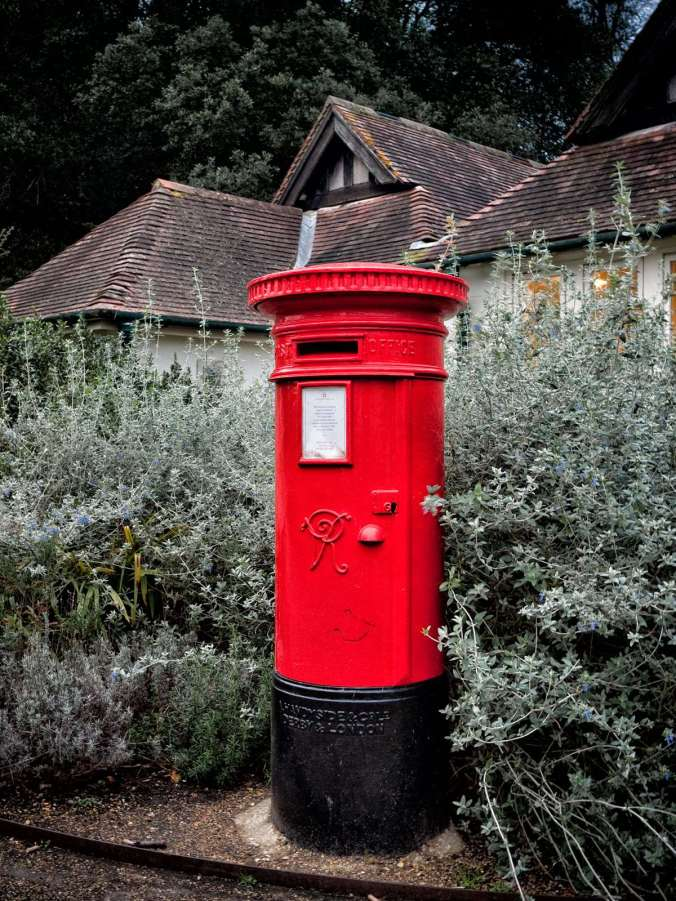 British post box