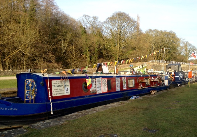 The Witchcrafter narrowboat