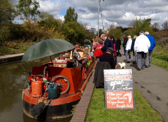 narrowboat Brass shop