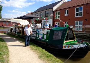 The Home Brew Boat at Fazeley May 2016