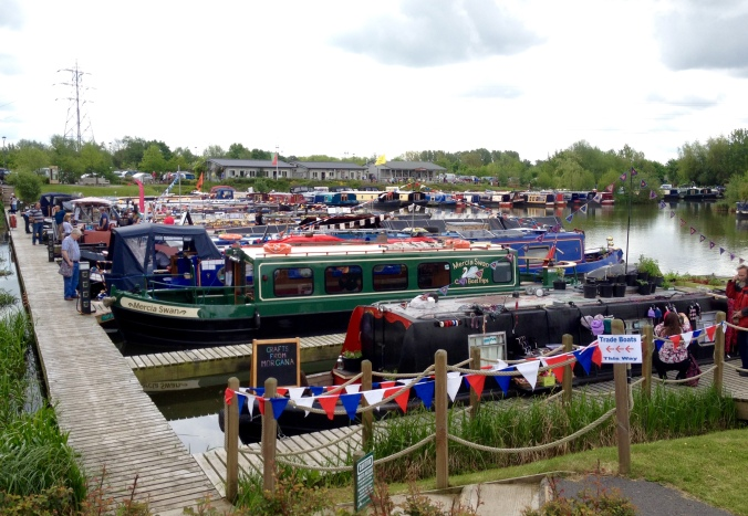 Floating Market at Mercia Marina 2016
