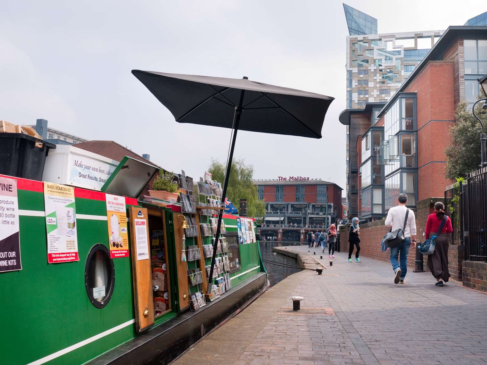 The Home Brew Boat in Birmingham