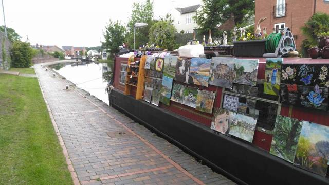 Wendy B's Floating Art Gallery