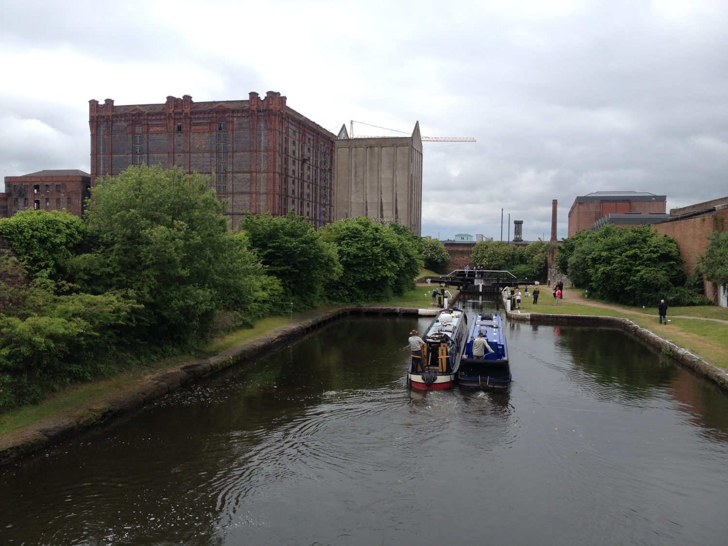 Liverpool canal Tobacco Building