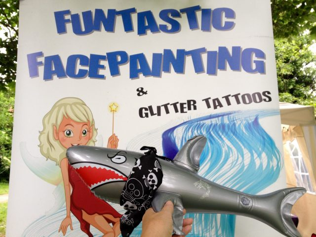 Funtastic Facepainting with Sharky McShark