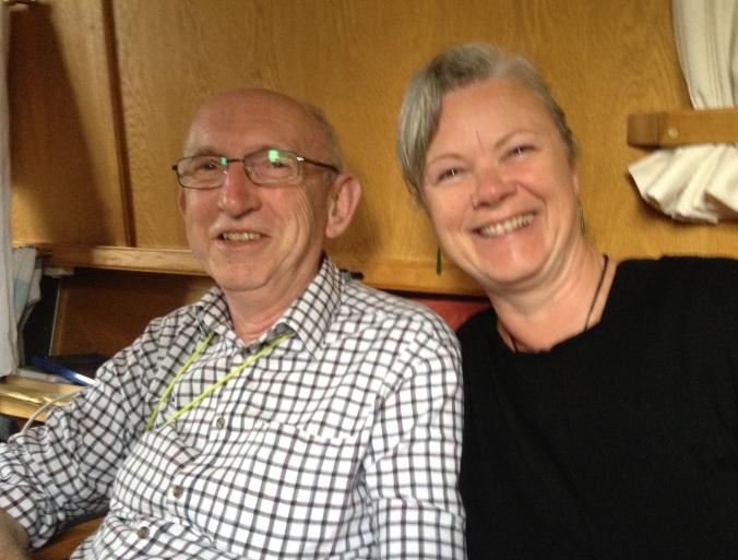 David and I on board Areandare