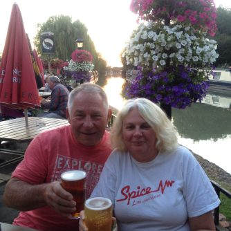 A summer's evening at The Blue Lias
