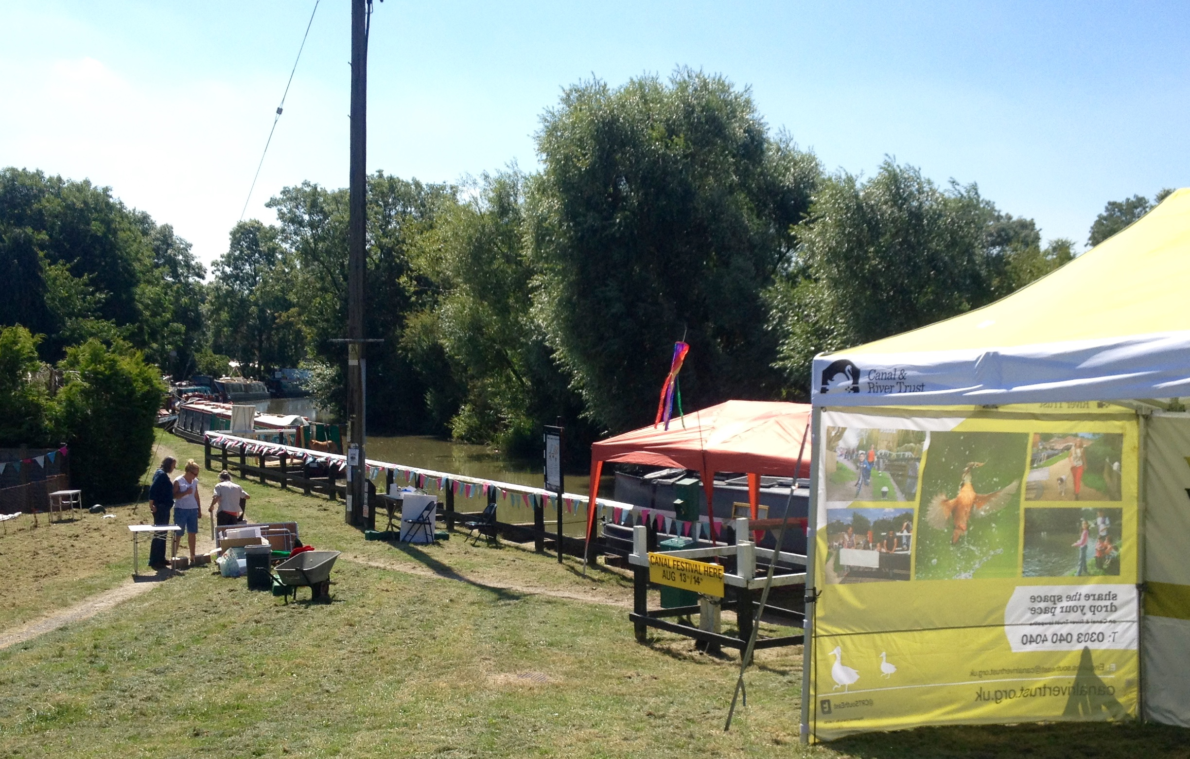 Blisworth Canal Festival 2016