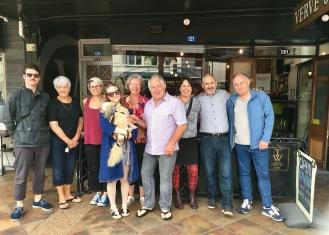 Barry's family in Gisborne