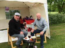 Barry and Tony at Burton