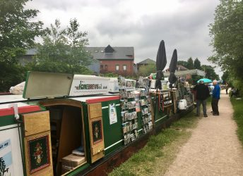 The Home Brew Boat in action
