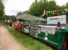The Home Brew Boat at Middlewich FAB Festival, June 2017