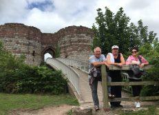 A bracing walk to Beeston castle
