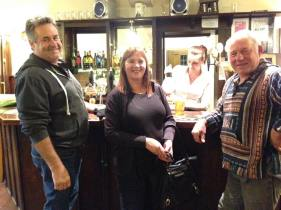More unexpected guests - Teresa and Roger from NZ