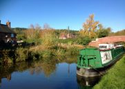 Moored at Hopwas - by The Tame Otter