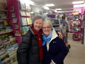 Mum comes to see me at our shop