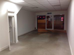 An empty shop
