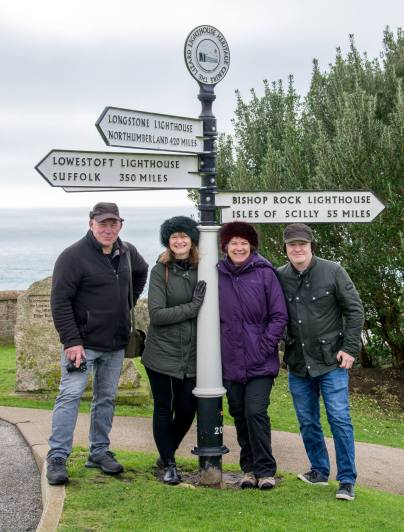 Visiting the Lighthouse at Lizard Point