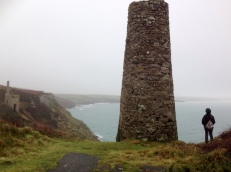 The 'short' walk - Porthleven is in the far distance