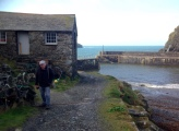 A visit to Mullion Cove on Sunday