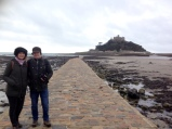 And St Michael's Mount on Monday