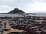 Only just made it there and back before the tide came in and covered the path