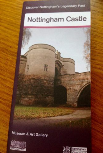 The leaflet from the Tourism Centre (undated!)