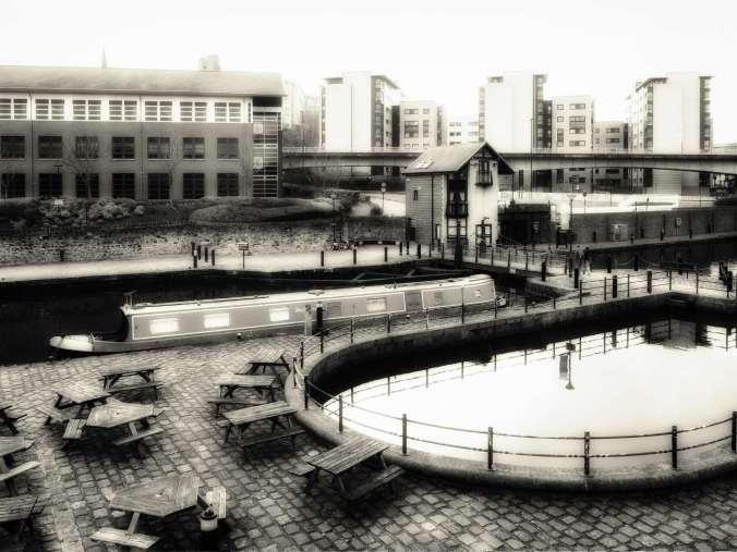 NB Areandare Victoria Quays Sheffield