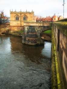 ... built in 1483 as part of Rotherham Bridge.