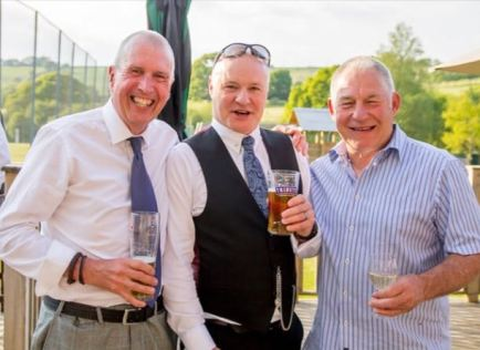 Dave, Ray and Barry - brothers-in-law