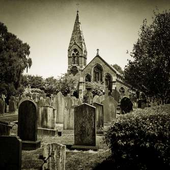 ... and just over the road is St Mary The Virgin' Church