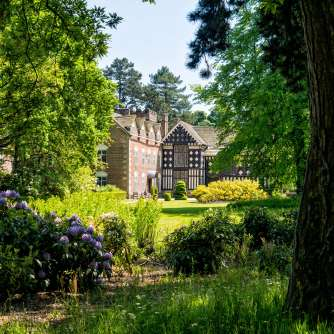 A quick peek at Rufford Old Hall