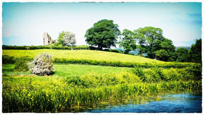 Greenhaig Castle Lancaster Canal by Barry Teutenberg