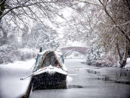 A snow covered Areandare December 2017 Hopwas